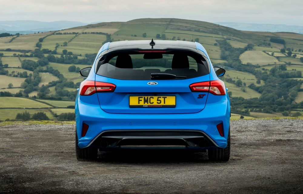 Ford Focus ST Edition: suspensie nouă, jante mai ușoare și gardă la sol mai mică - Poza 15
