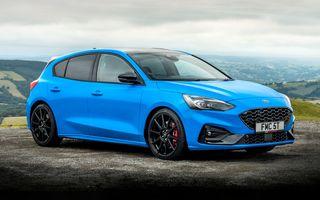 Ford Focus ST Edition: suspensie nouă, jante mai ușoare și gardă la sol mai mică