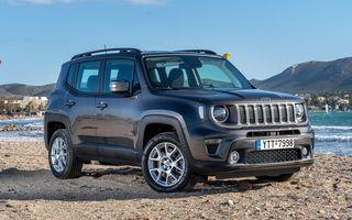 Prețuri Jeep Renegade 4xe în România: versiunea plug-in hybrid pornește de la 39.000 de euro