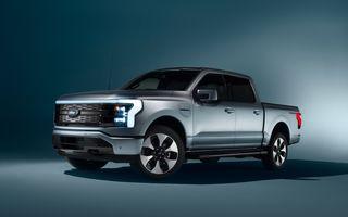 Ford dublează producția lui F-150 Lighting, pe fondul cererii ridicate