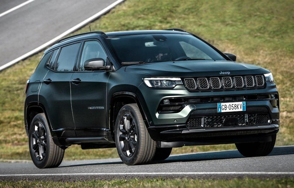 Prețuri Jeep Compass 4xe Plug-in Hybrid în România: start de la 44.500 de euro - Poza 1