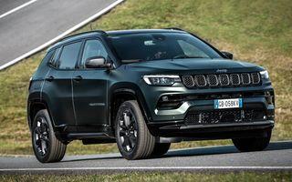 Prețuri Jeep Compass 4xe Plug-in Hybrid în România: start de la 44.500 de euro