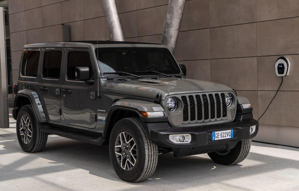 Prețuri Jeep Wrangler 4xe Plug-in Hybrid în România: echiparea de top Sahara pornește de la 76.000 de euro - Poza 1