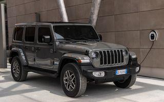 Prețuri Jeep Wrangler 4xe Plug-in Hybrid în România: echiparea de top Sahara pornește de la 76.000 de euro