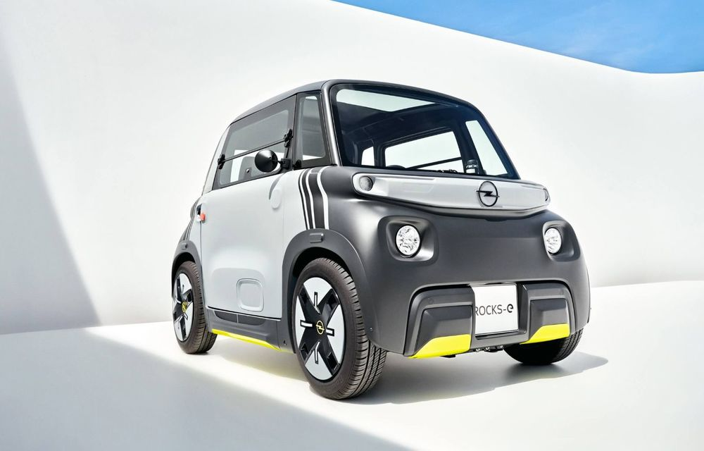 Noul cvadriciclu electric Opel Rocks-e: geamănul lui Citroen Ami are 8 CP și 75 de kilometri autonomie - Poza 2