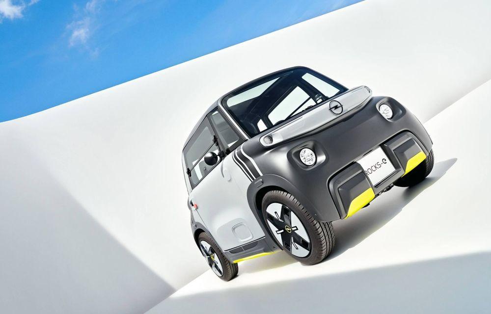 Noul cvadriciclu electric Opel Rocks-e: geamănul lui Citroen Ami are 8 CP și 75 de kilometri autonomie - Poza 3