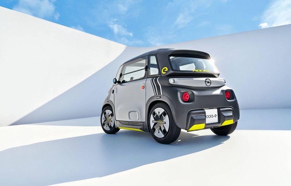 Noul cvadriciclu electric Opel Rocks-e: geamănul lui Citroen Ami are 8 CP și 75 de kilometri autonomie - Poza 6