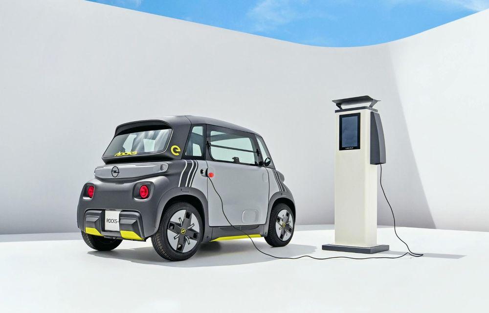 Noul cvadriciclu electric Opel Rocks-e: geamănul lui Citroen Ami are 8 CP și 75 de kilometri autonomie - Poza 7