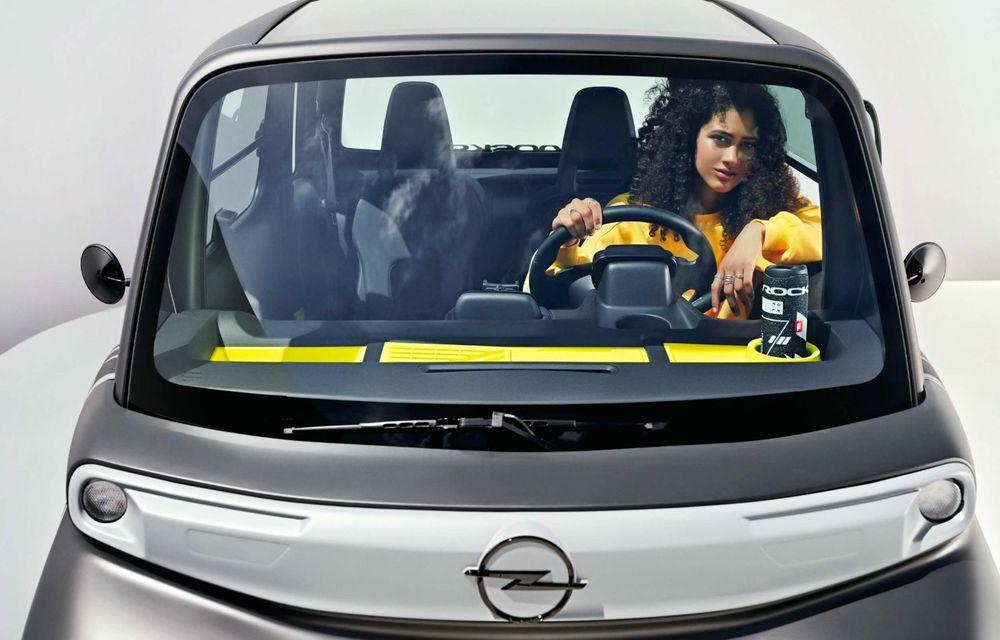 Noul cvadriciclu electric Opel Rocks-e: geamănul lui Citroen Ami are 8 CP și 75 de kilometri autonomie - Poza 12
