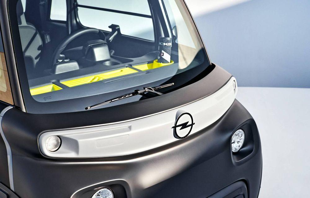 Noul cvadriciclu electric Opel Rocks-e: geamănul lui Citroen Ami are 8 CP și 75 de kilometri autonomie - Poza 13