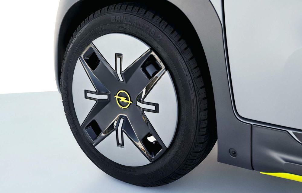 Noul cvadriciclu electric Opel Rocks-e: geamănul lui Citroen Ami are 8 CP și 75 de kilometri autonomie - Poza 15