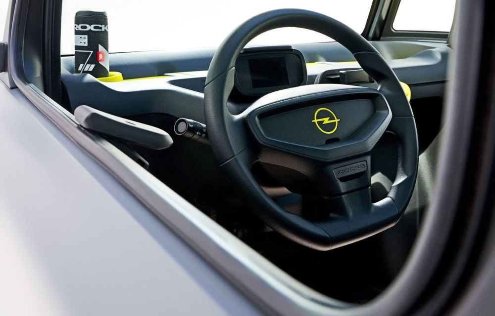 Noul cvadriciclu electric Opel Rocks-e: geamănul lui Citroen Ami are 8 CP și 75 de kilometri autonomie - Poza 9