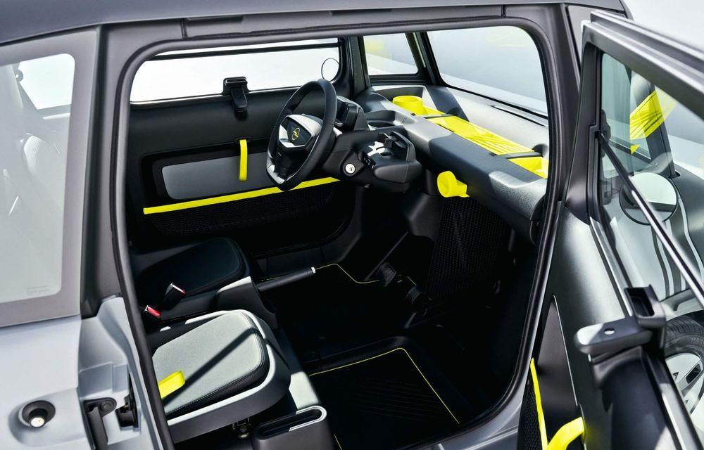 Noul cvadriciclu electric Opel Rocks-e: geamănul lui Citroen Ami are 8 CP și 75 de kilometri autonomie - Poza 11