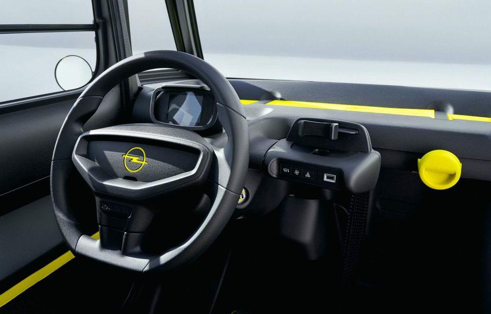 Noul cvadriciclu electric Opel Rocks-e: geamănul lui Citroen Ami are 8 CP și 75 de kilometri autonomie - Poza 10