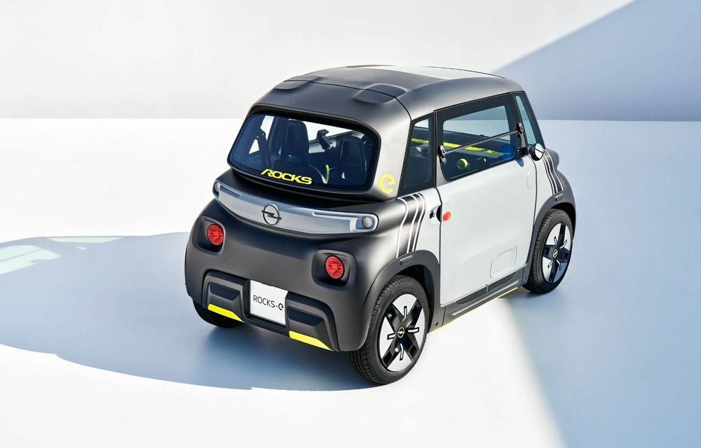 Noul cvadriciclu electric Opel Rocks-e: geamănul lui Citroen Ami are 8 CP și 75 de kilometri autonomie - Poza 16