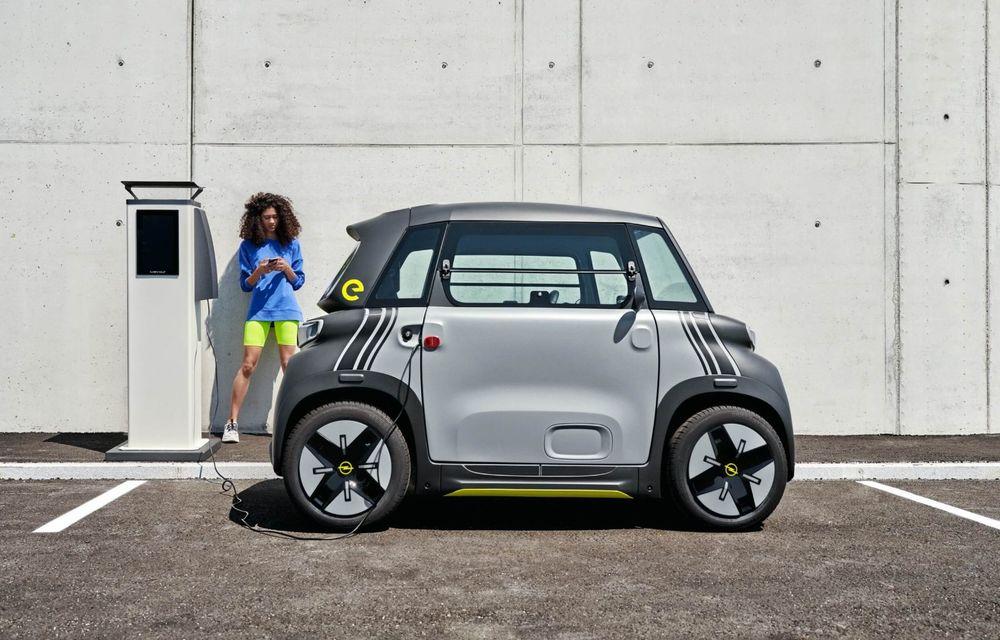 Noul cvadriciclu electric Opel Rocks-e: geamănul lui Citroen Ami are 8 CP și 75 de kilometri autonomie - Poza 8