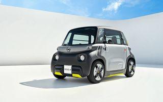 Noul cvadriciclu electric Opel Rocks-e: geamănul lui Citroen Ami are 8 CP și 75 de kilometri autonomie