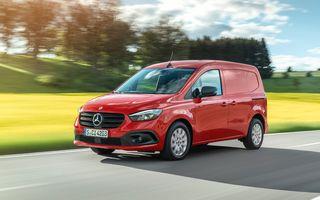 Mercedes-Benz prezintă noul Citan. Din 2022 va avea și versiune pur electrică