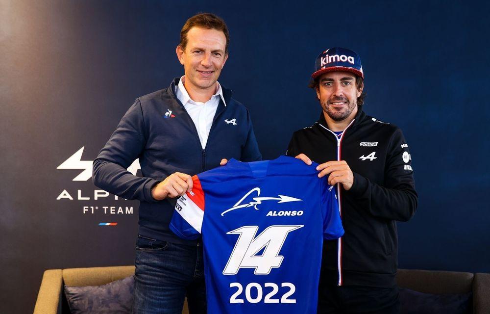 Fernando Alonso va concura pentru Alpine F1 și în 2022 - Poza 1