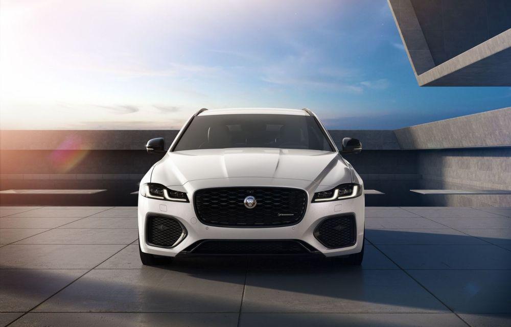 Jaguar XE și XF R-Dynamic Black: 204 CP și o serie de elemente vopsite în negru - Poza 12