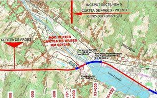Autostrada Pitești-Sibiu: lucrările pe lotul dintre Pitești și Curtea de Argeș încep în septembrie