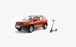 Dacia lansează Duster Urban: preț de 13.900 de euro, doar 1.000 de unități și trotinetă electrică cadou
