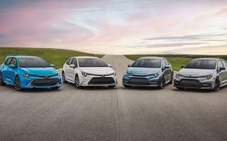 Sărbătoare la Toyota: niponii au comercializat 50 de milioane de exemplare Corolla