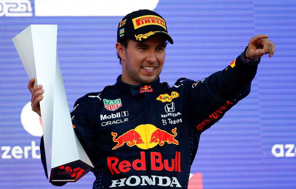 Sergio Perez va concura pentru Red Bull Racing și în 2022 - Poza 1