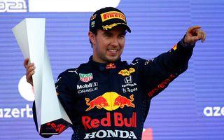 Sergio Perez va concura pentru Red Bull Racing și în 2022