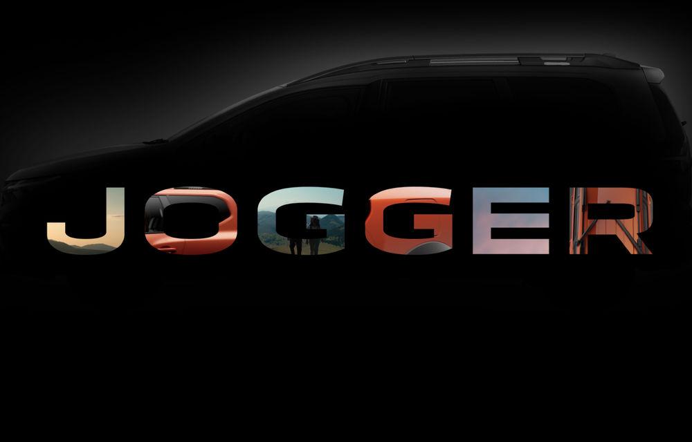 OFICIAL: Dacia Jogger este numele noului model cu 7 locuri al mărcii de la Mioveni - Poza 1