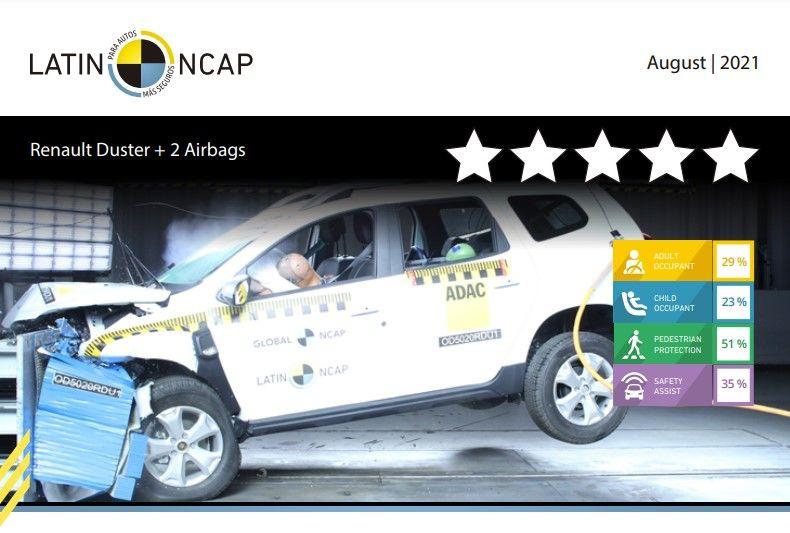 Renault Duster, produs în Brazilia, a obținut zero stele la testele Latin NCAP - Poza 2