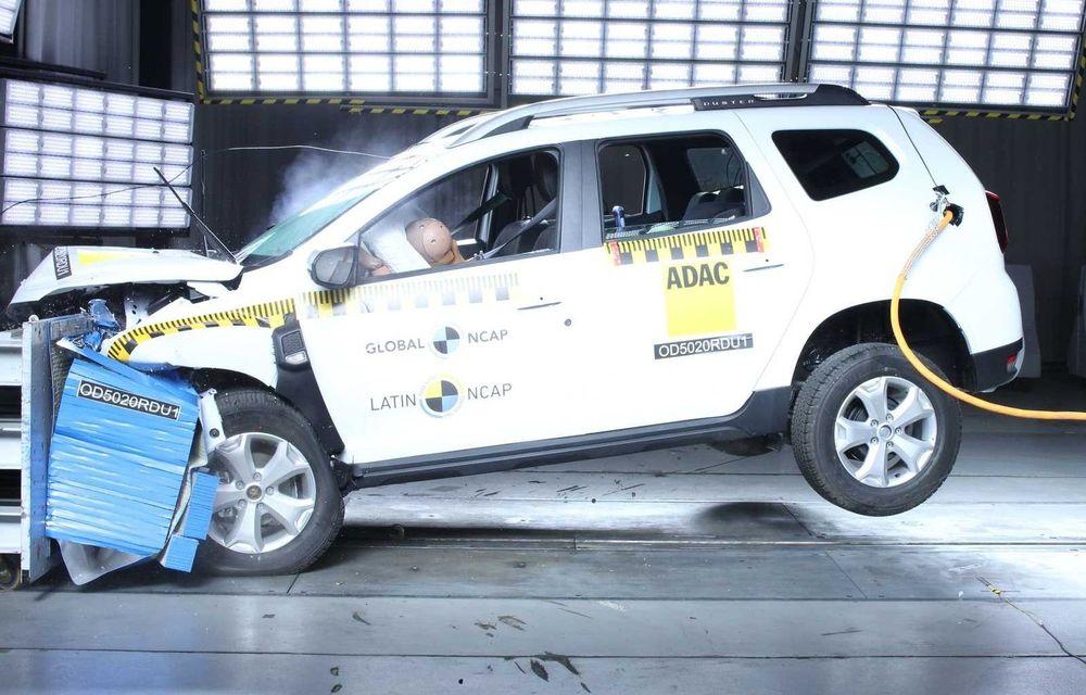 Renault Duster, produs în Brazilia, a obținut zero stele la testele Latin NCAP - Poza 1