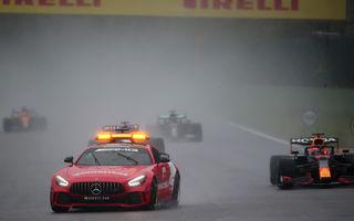 Marele Premiu de Formula 1 al Belgiei oprit din cauza ploii. Max Verstappen declarat câștigător