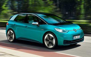 Volkswagen ID.3, cea mai vândută mașină electrică din Europa în iulie