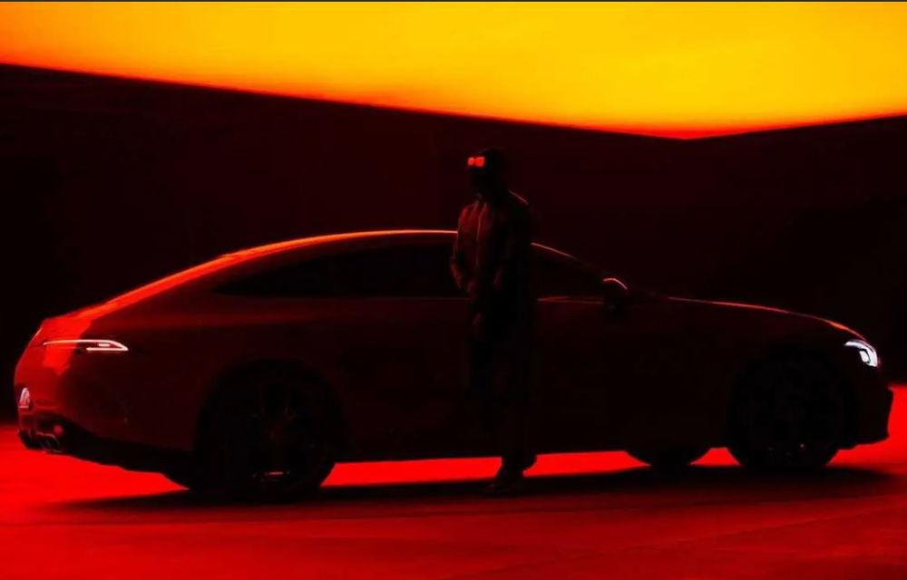O nouă imagine teaser cu primul Mercedes-AMG Plug-in Hybrid. Va avea peste 800 CP - Poza 1