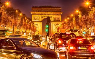 De azi, Parisul limitează oficial viteza maximă la 30 km/h în tot orașul, cu unele excepții