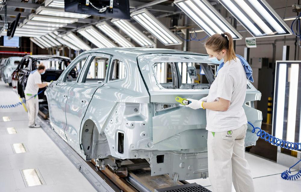 Skoda a asamblat 100.000 de mașini electrificate. Până în 2030, cehii vor lansa trei modele pur electrice - Poza 1