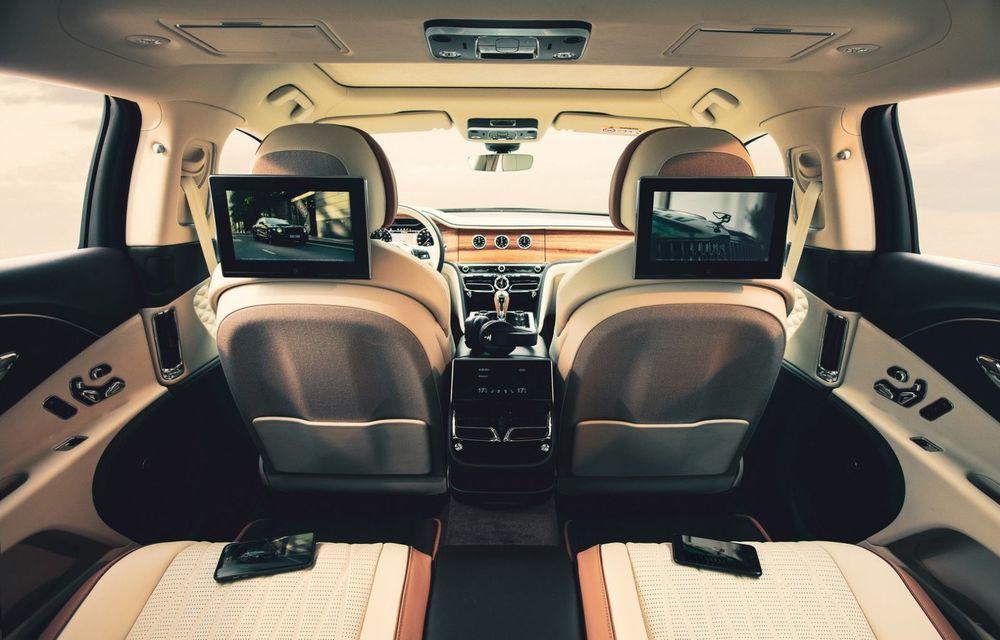 Bentley lansează un nou sistem multimedia, cu ecrane de 10.1 inch, pentru pasagerii din spate - Poza 1