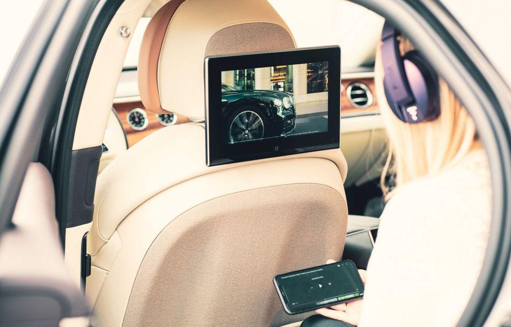 Bentley lansează un nou sistem multimedia, cu ecrane de 10.1 inch, pentru pasagerii din spate - Poza 3