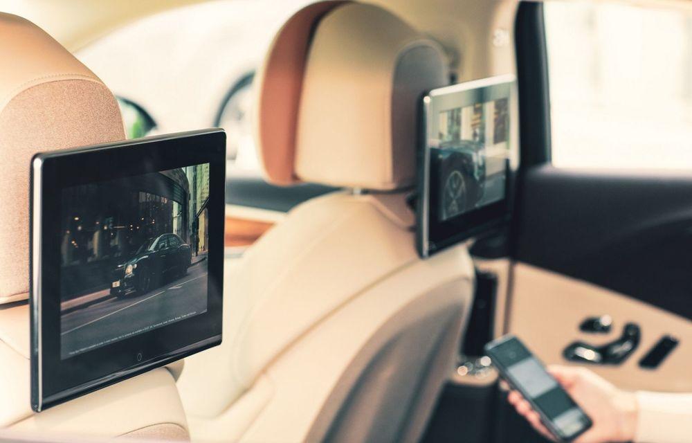 Bentley lansează un nou sistem multimedia, cu ecrane de 10.1 inch, pentru pasagerii din spate - Poza 2