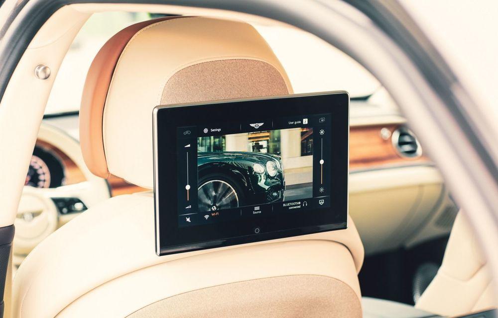 Bentley lansează un nou sistem multimedia, cu ecrane de 10.1 inch, pentru pasagerii din spate - Poza 4