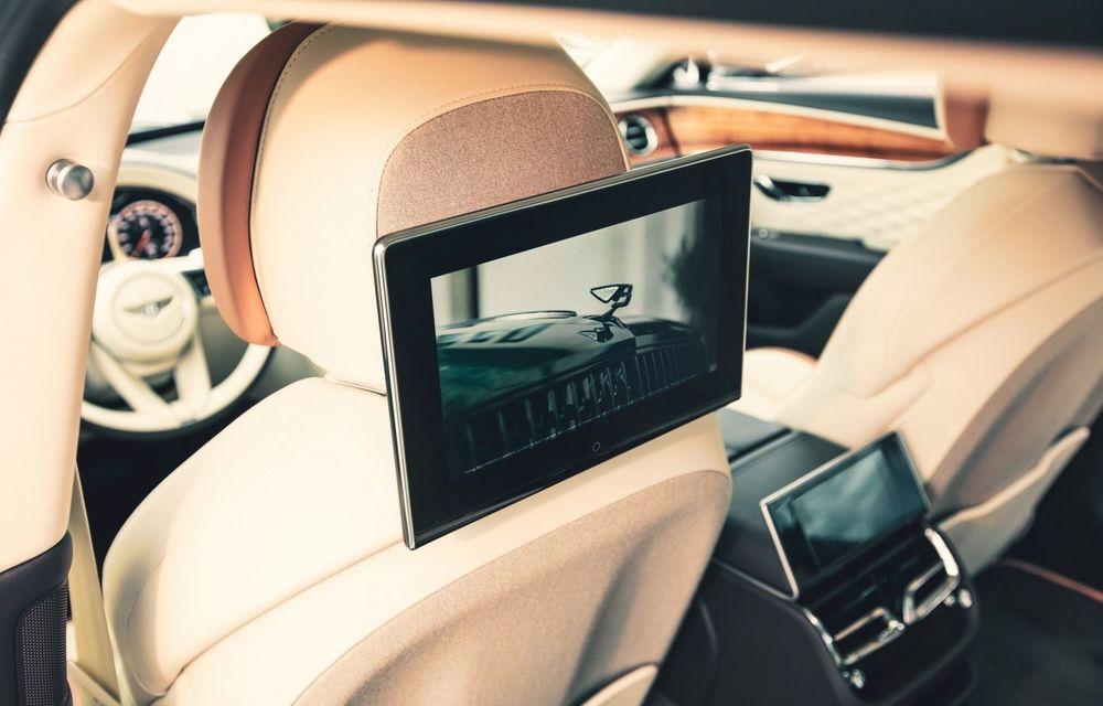 Bentley lansează un nou sistem multimedia, cu ecrane de 10.1 inch, pentru pasagerii din spate - Poza 5