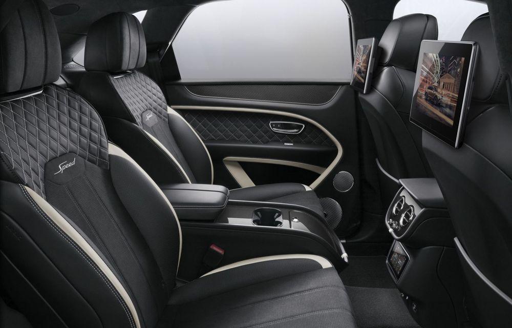 Bentley lansează un nou sistem multimedia, cu ecrane de 10.1 inch, pentru pasagerii din spate - Poza 7