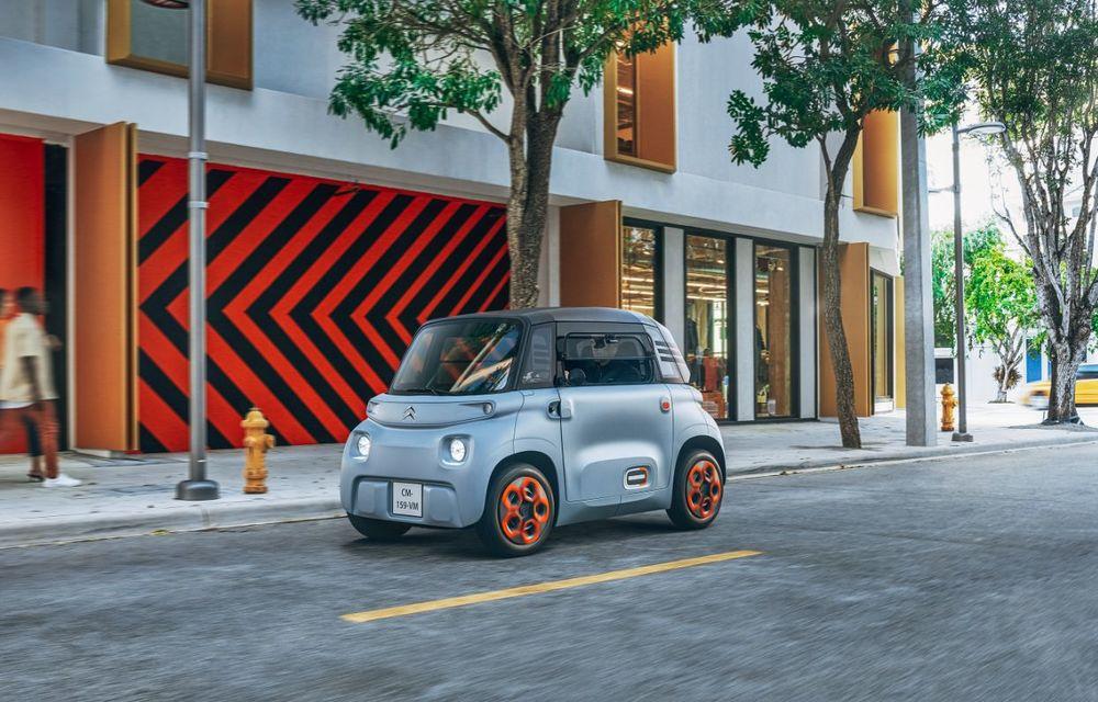 Citroën Ami: soluție de mobilitate pentru România, de la 5000 de euro. Disponibil din 2022 - Poza 2