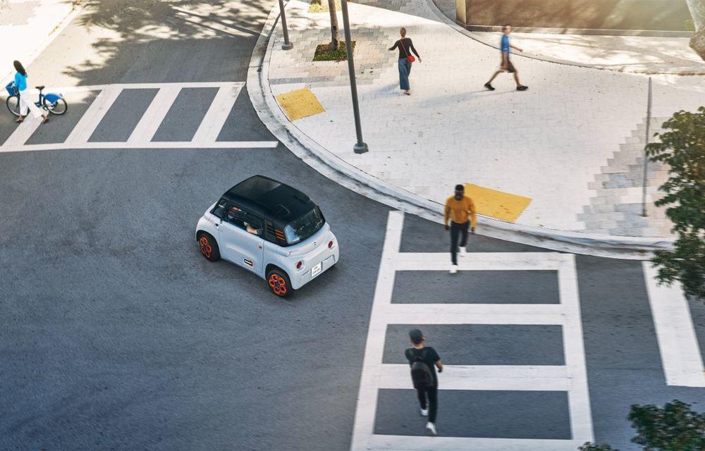 Citroën Ami: soluție de mobilitate pentru România, de la 5000 de euro. Disponibil din 2022 - Poza 3