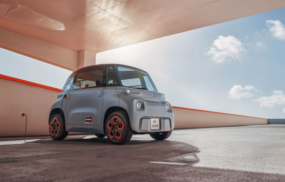 Citroën Ami: soluție de mobilitate pentru România, de la 5000 de euro. Disponibil din 2022 - Poza 5