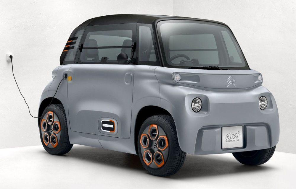 Citroën Ami: soluție de mobilitate pentru România, de la 5000 de euro. Disponibil din 2022 - Poza 1