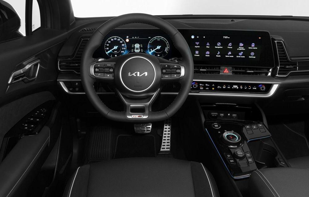 OFICIAL: Noul Kia Sportage pentru Europa debutează cu motorizări hibrid, PHEV și diesel - Poza 6