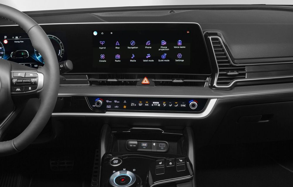 OFICIAL: Noul Kia Sportage pentru Europa debutează cu motorizări hibrid, PHEV și diesel - Poza 9