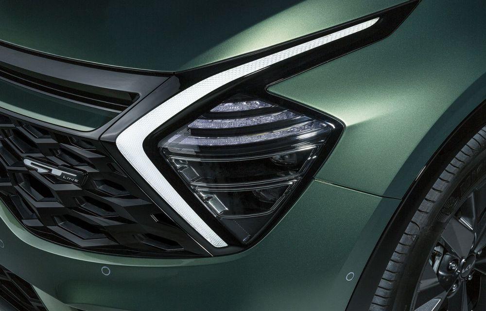 OFICIAL: Noul Kia Sportage pentru Europa debutează cu motorizări hibrid, PHEV și diesel - Poza 14